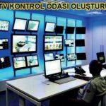 Endüstriyel tesislerde CCTV güvenlik  kamera sisteminin kullanımı