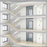 Merdivenlerde yangın koruması